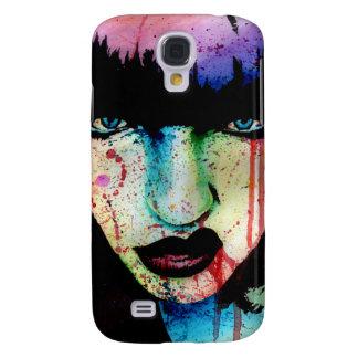 Slösad ungdom - Punk porträtt för stenregnbågefasa Galaxy S4 Fodral