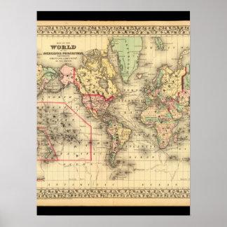 Slösad världskarta 29 poster