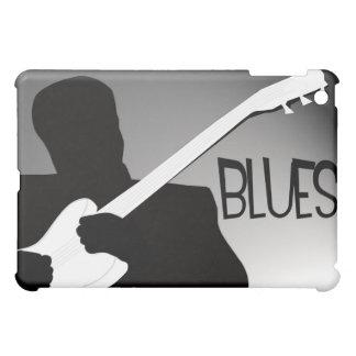 Slösar spelare silhouette med en strålkastare iPad mini mobil skal