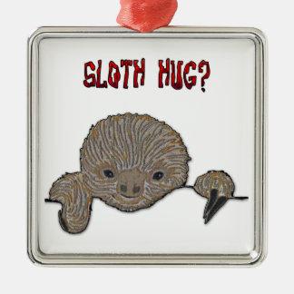 Sloth för Slothkrambaby Julgransprydnad Metall