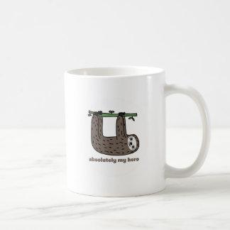 Sloth hjälten kaffe mugg