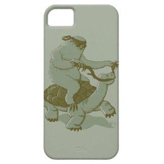 Sloth som rider en sköldpadda iPhone 5 Case-Mate cases