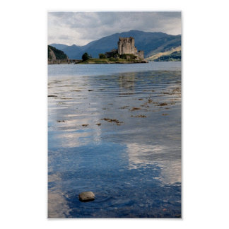 Slott Eilean Donan i Skottland Poster