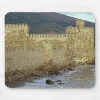 Slott som byggas av korsfararna musmattor