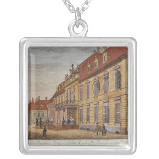 Slotten av Prince Ferdinand av Prussia Silverpläterat Halsband