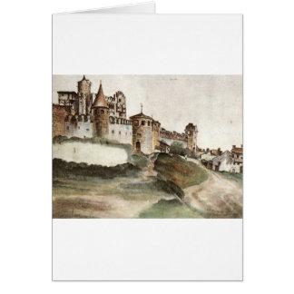 Slottet på Trento av Albrecht Durer Hälsningskort