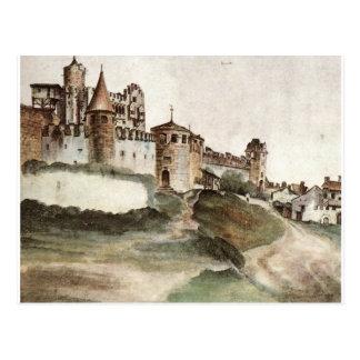 Slottet på Trento av Albrecht Durer Vykort