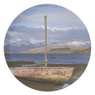 SlottStalker med fiskebåten i Tallrik