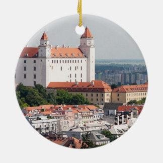 Slovakien Bratislava julprydnad Julgransprydnad Keramik