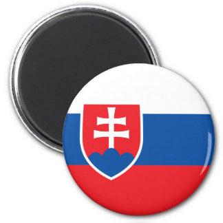 Slovakien flaggamagnet kylskåps magneter