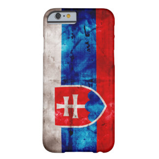 Slovakisk flagga barely there iPhone 6 skal