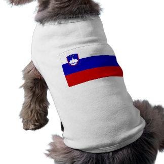 Slovenien flagga långärmad hundtöja