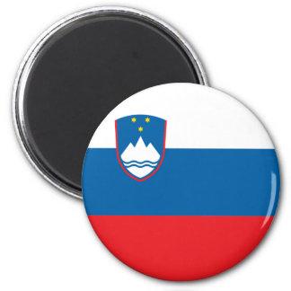 Slovenien flaggamagnet magneter