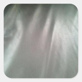 Slumpmässigt tyg fyrkantigt klistermärke