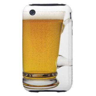 Slut upp av ett exponeringsglas av öl 2 tough iPhone 3 case
