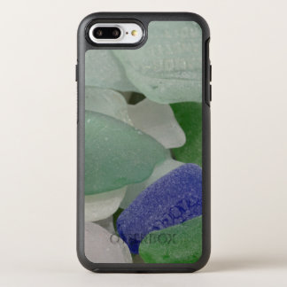 Slut upp av strandexponeringsglas, Alaska OtterBox Symmetry iPhone 7 Plus Skal