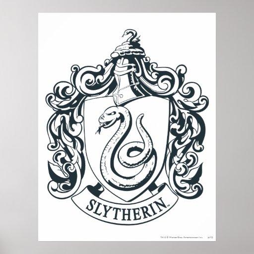 Slytherin vapensköld posters