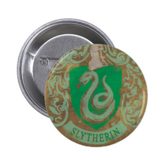 Slytherin vapensköld HPE6 Knappar
