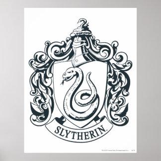 Slytherin vapensköld poster