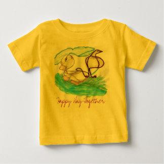 SM083 lycklig dag tillsammans - skräddarsy T Shirts