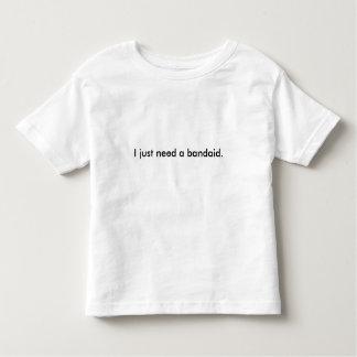Småbarn-Bandaid-Roligt Tee Shirt