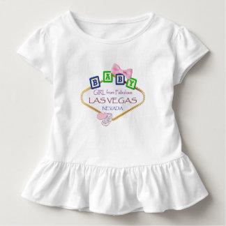 Småbarn rufsar flickan från den Las Vegas T Shirts