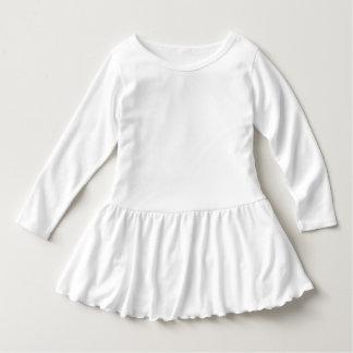 Småbarn rufsar klänningen t shirt
