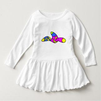 småbarn rufsar klänningen t-shirt