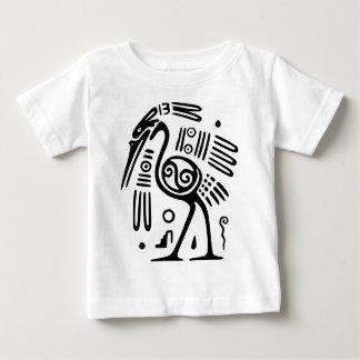 Småbarn T-tröja med Mayan fågeldesign Tee