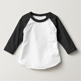 Småbarnamerikandräkt 3/4 sleeveRaglanT-tröja T-shirt