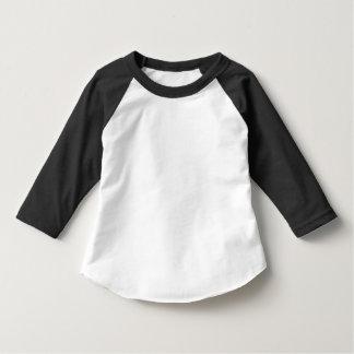 Småbarnamerikandräkt 3/4 sleeveRaglanT-tröja Tee Shirts