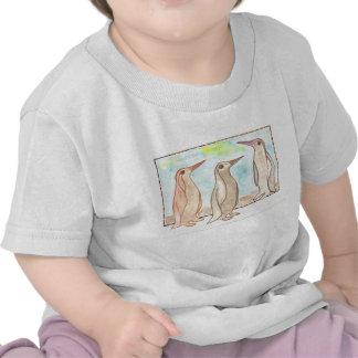 SmåbarnT-tröja för tre pingvin