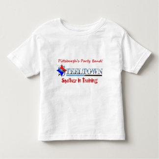 SmåbarnutslagsplatsSteeltown Stalker i utbildning T-shirt