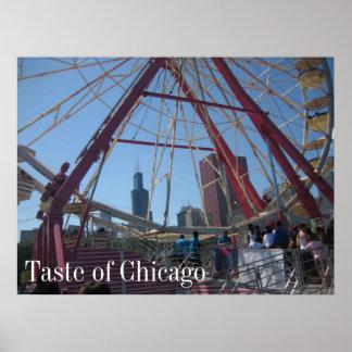 Smak av Chicago Poster