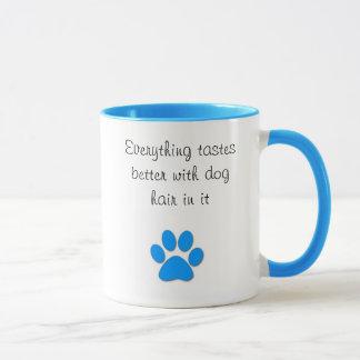 Smaker förbättrar med hundhår mugg