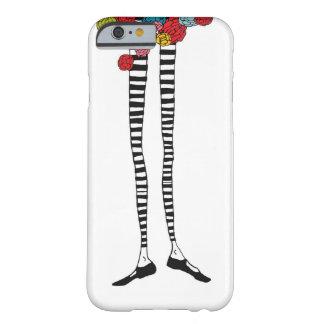 Smalan lägger benen på ryggen iPhone 6 täcker Barely There iPhone 6 Fodral