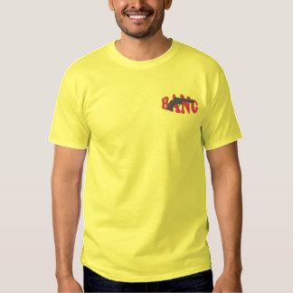 Smäll broderad T-tröja Broderad T-shirt