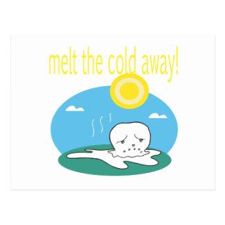 Smält kallet bort 2 vykort