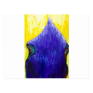 Smälter blåttPope (religiös surrealism) Vykort