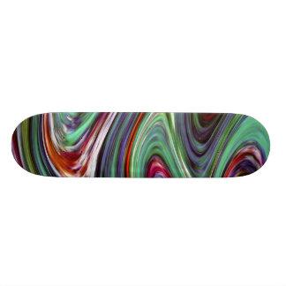 Smälter färg~-Skateboard Skateboard Bräda 19,5 Cm