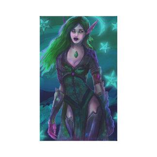 Smaragd Birthstone Canvastryck