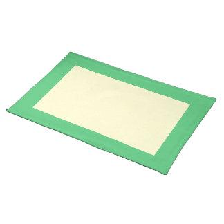 Smaragd- och krämbordstablett bordstablett