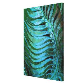 Smaragd som befjädrar II Canvastryck