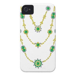 Smaragdar kedjar in iPhone 4 Case-Mate skydd
