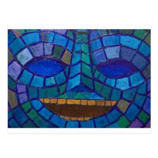 Smaragden maskerar (urinnevånaren maskerar vykort
