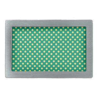 Smaragdgrönt med gul polka dots vid STaylor