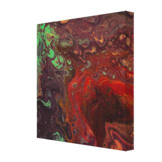 Smaragdmauve 1 canvastryck