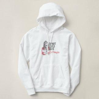 Smart flickor läste den romanska hoodien tee shirts