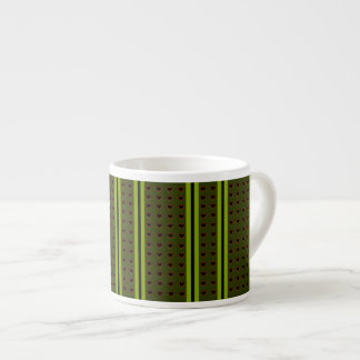 Smart hjärtor rev av djupt - den gröna Expresso Espressomugg