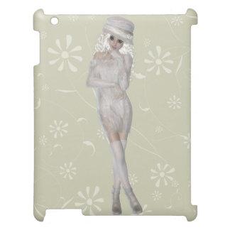 Smart Matte iPadfodral för blond flicka iPad Skal